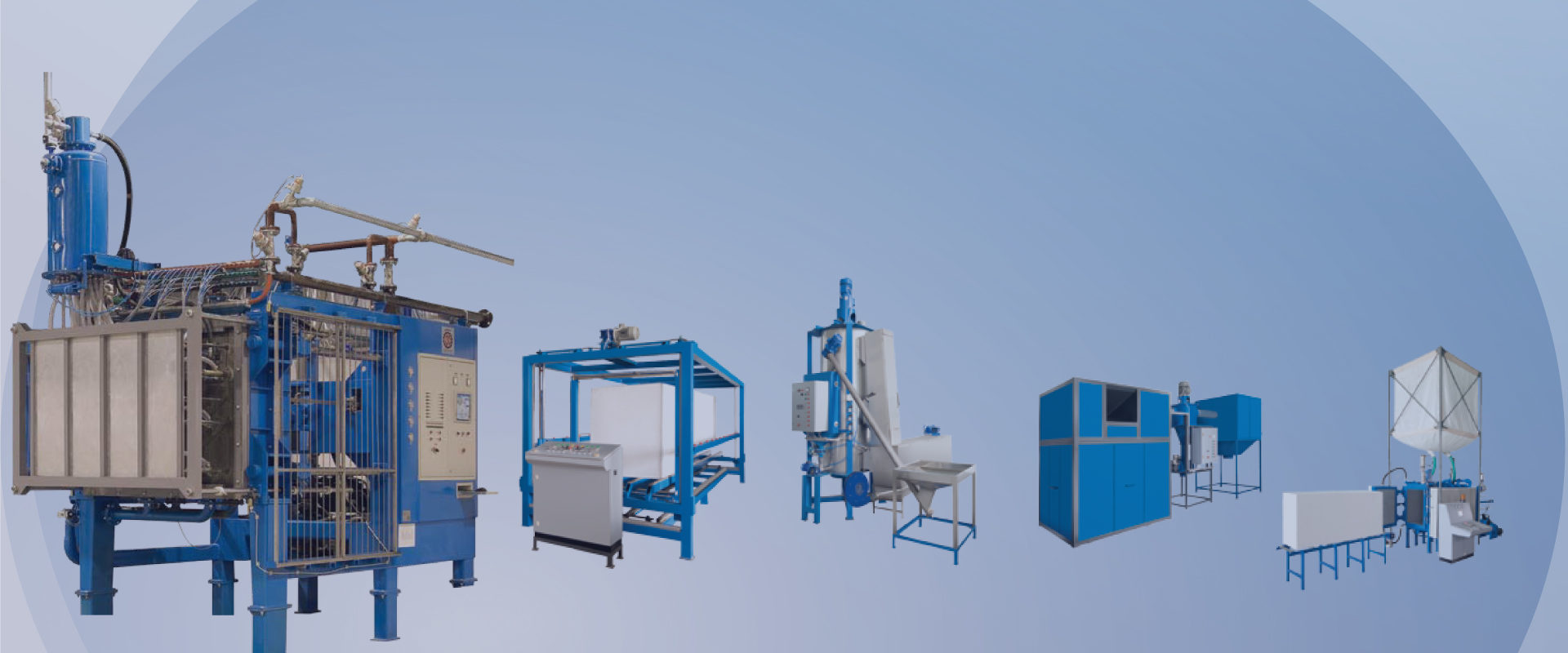Expanded Polystyrene Machinery & Applications
